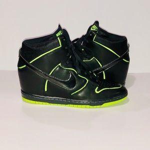 Nike Wedged Sky High Sneakers